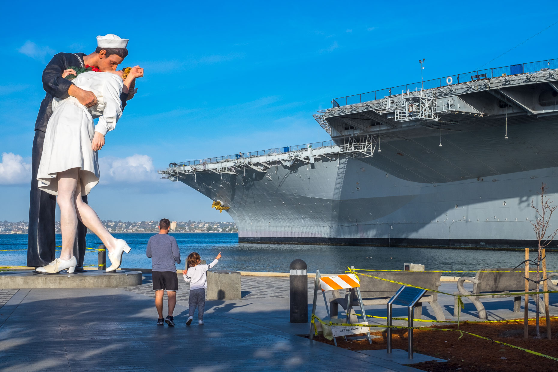Farewell, USS Midway, San Diego, CA