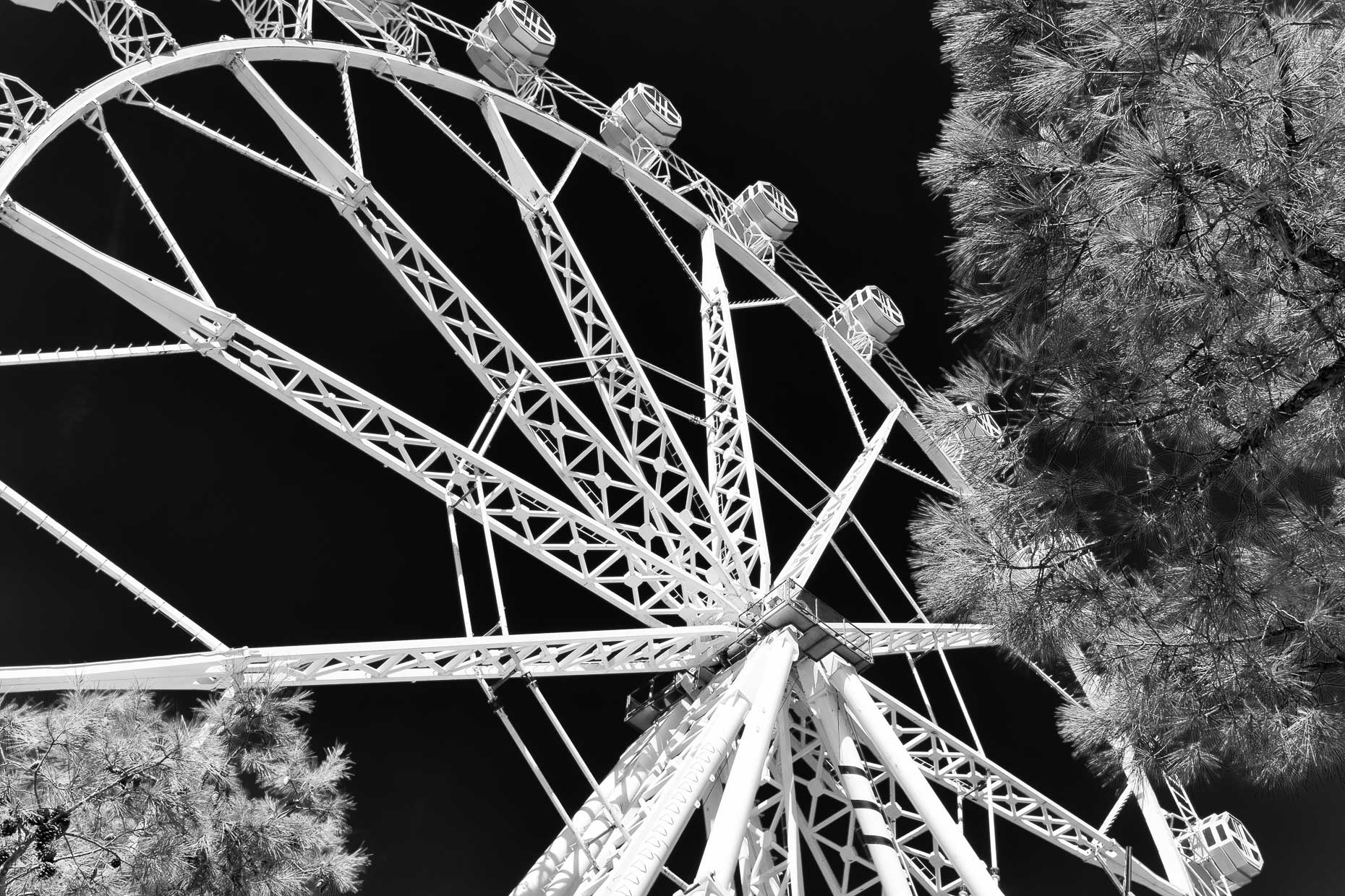 EFerris Wheel, Barcelona, Spain