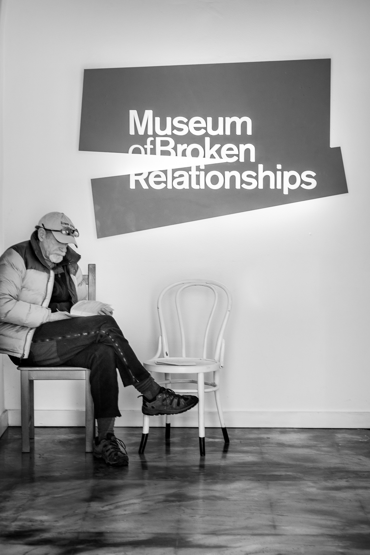Alone, Museum of Broken Relationships, Zagreb, Croatia