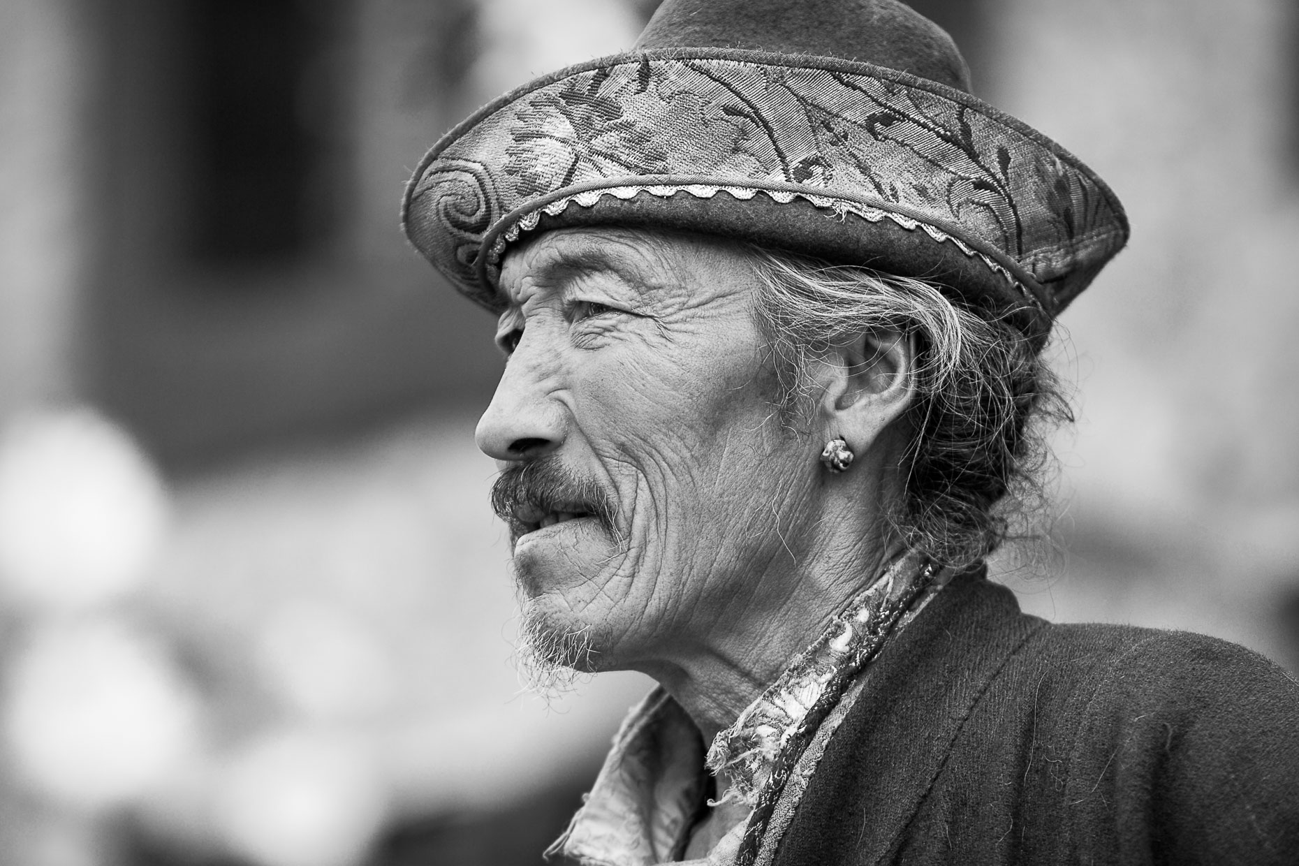 Man in Nyapo Village, Tibet